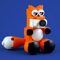 Cuddly Toys: Fox (Swan Dutchman) Tags: lego toy cuddlytoy stuffedtoy plushtoy plushies snuggies stuffies snuggledanimals stuffedanimals softtoys knuffel knuffelbeest knuffeldier fox vos