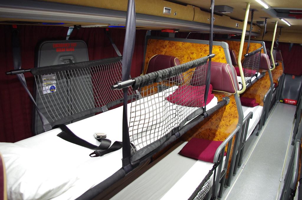 Megabus Gold Night sleepers - Review of Megabus UK ...