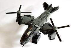 Serpent Gunship Overview (✠Andreas) Tags: lego aircraft vtol gunship legovtol legogunship vtolgunship thepurgeeu stealthgunship eugunship euvtol stealthtiltrotor