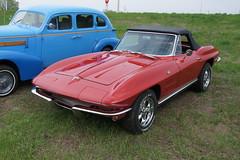 64 Chevrolet Corvette StingRay (DVS1mn) Tags: cars chevrolet car gm bowtie chevy carshow generalmotors showcars willmarcarclub minnesotacarshow