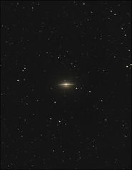 The Sombrero - M104 (Teva CHENE) Tags: canon celestron xsi c14 baader m104 sombrerogalaxy 450d pixinsight starizona hyperstar messier104 backyardeos