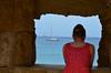 Sea view (Stephen Whittaker) Tags: sea water girl rock lady boat nikon women view d5100 whitto27