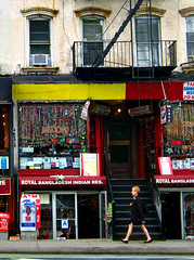 91-93 1st Avenue (Goggla) Tags: new york nyc architecture restaurant village indian royal east storefront stoop tenement panna milon 931st