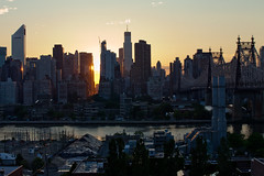 Skyline (Atomox) Tags: nyc sunset newyork manhattan queens eastriver 365 eastside queensborobridge longislandcity 57thstreet zhotel artistsontumblr