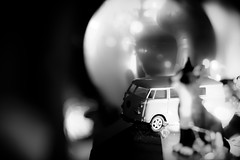 (131/366) Filler! (Cathy G) Tags: vw camper campervan toy tat ornaments bricabrac bw home 366 131366