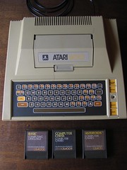 Atari 400 with Basic CXL4002, Chess and Asteroids (retrocomputers) Tags: atari 8bit retrocomputer atari400 retrocomputing vintagecomputer atari8bit