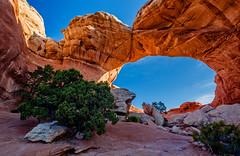 Broken Arch - Utah (Jackpicks) Tags: utah arch desert moab archesnationalpark rockformations brokenarch mygearandme