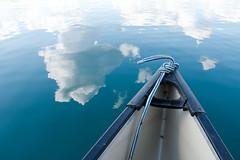 Pine Lake (Camusi) Tags: blue lake canada aquamarine lac canoe bleu alberta northwestterritories fortsmith woodbuffalonationalpark canot northof60 doline territoiresdunordouest