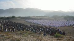 HLS_2113 (Indonesia Documentary Photographer) Tags: sand eid islamic moslem bantul shalat idulfitri parangkusumo gumukpasir 1434h