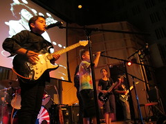 IMG_4325 (NYC Guitar School) Tags: nyc guitar school performance rock teen kids music 81513 summer camp engelman hall baruch gothamist plasticarmygirl samoajodha samoa jodha