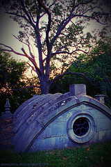 Safe And Sound (photosattva) Tags: graves aged sunset photosphotography death old evening memorial burial photoart alone tombstone cemetery deceased tomb crypt graveyard darkness vault photography photos architecture