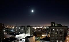 Blue Moon over Los Angeles (ManFromNor) Tags: bluemoon fullsturgeonmoon fullredmoon grainmoon greencornmoon