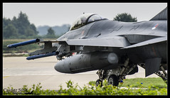 """Rolling"" (Caspar Smit) Tags: aircraft aviation f16 falcon viper volkel rnlaf fightingfalcon j515 ehvk"