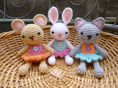 Pocket Pets (janineholmes1) Tags: ballet pet pets rabbit bunny cat mouse kitten pocket tutu