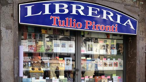 Bookshop, Piazza Dante, Naples