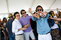 Silent Disco at LivingSocial Beer Fest
