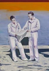 performance, no.2 (casperverborg) Tags: people white men painting story narrative figurative figuratief