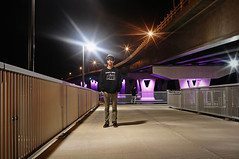 Sean Guest (Matthew Crowne) Tags: ocean new city bridge night point pier fishing long exposure time nj sean route jersey ninth stree 52 somers route52