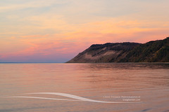 Empire Bluffs at Sunset (Craig - S) Tags: park travel sunset vacation usa tourism beach mi america forest river landscape nationalpark sand woods midwest picnic michigan dunes sandy relaxing scenic tourist lakemichigan empire destination grasses serene upnorth bluffs northern nationalparkservice sleepingbeardunes tranquil sanddunes bluff sleepingbear southmanitouisland chippewa ottercreek dunegrass esche sleepingbeardunesnationallakeshore leelanaucounty picnicarea nationallakeshore m22 empirebluffs sceniclandscape plattebay empiremichigan escheroad unitedstatesnationallakeshore