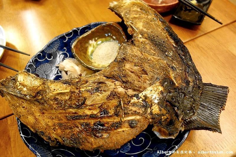 台北中山.小六食堂:烤黃鰭鮪魚下巴