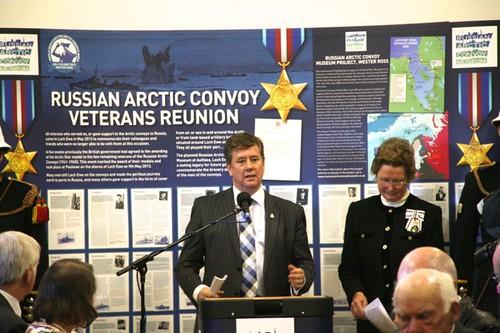 arctic star medal ceremony loch ewe 2013