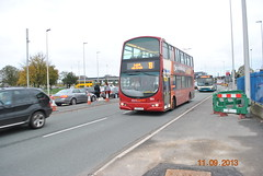 LX53 AZZ - Network Warrington (Network Warrington 103) Tags: warrington roadworks network leigh 19 collegiate 192 azz lx53 volvob7tl nw103