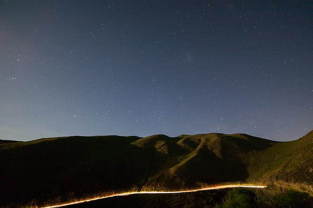 Paekakariki Hill Road glow
