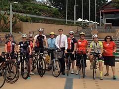 Bike Skills Training launch