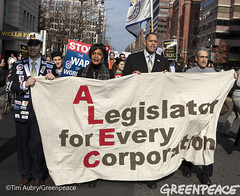 Taking ALEC Protest To The Streets (Greenpeace USA 2016) Tags: usa corporate hotel march dc washington districtofcolumbia protest alec demonstration american council hyatt fatcat exchange corrupt protestor legislative