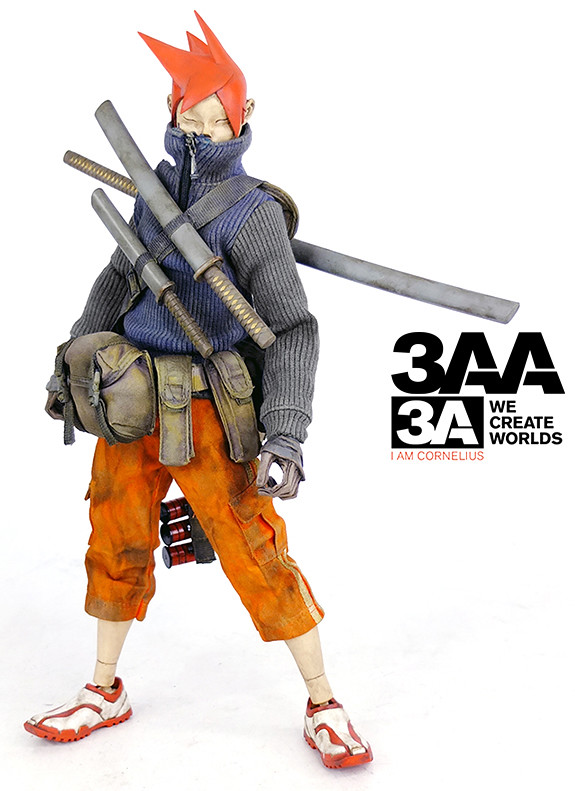 threeA 無預警突擊販售Cornelius the TK!