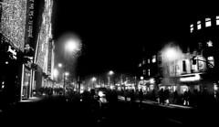 Streetlights (Mr.Skoch) Tags: bw streets berlin photoshop canon lights availablelight sw sights 500d streetsphotography 1635mm lserie schlossstrase