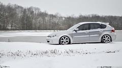 Subaru OBS (Reid Elattrache) Tags: winter snow cold sport silver pa subaru outback impreza reidelattrache