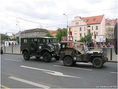 Willlys MB and Chevrolet C8A (ferdahejl) Tags: 2005 museum army war prague armour armoured wehicle chevroletc8a willlysmb