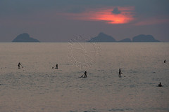 SUP ao pôr do sol - SUP at sunset (adelaidephotos) Tags: sunset sea summer brazil praia beach rio brasil riodejaneiro islands mar dusk pôrdosol verão sup paddlesurf arpoador entardecer ilhas standuppaddle mariaadelaidesilva