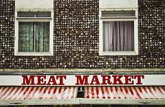 . Meat Market . (3amfromkyoto) Tags: shop store market streetphotography meat meatmarket 3amfromkyoto flickr:user=3amfromkyoto