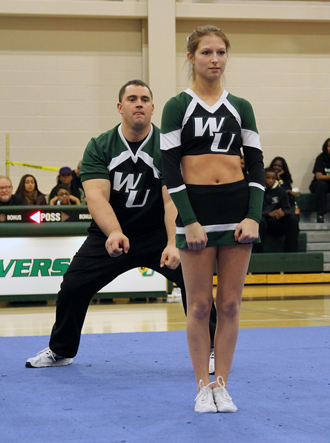 Coed partner stunt duo of David Bellew and Ariel Ellixson were crowned as National Champions on Wednesday, topping 11 other universities. Copyright 2014; Wilmington University. All rights reserved.