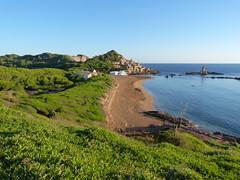 Cala Pregonda (Miguel__Escobar) Tags: ocean sea costa beach coast mar playa geography menorca cala physical balearicislands geografa islasbaleares geografafsica relievecostero coastalrelief