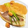 Sander fillet with pumpkin, squash and Syrah butter (CatalinaLinkava) Tags: fishrecipes healthydinner