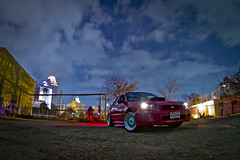 2014 shots5 (djericray) Tags: longexposure nightphotography lightpainting abandoned downtown alone factory decay urbandecay static cobb wrx sti awd jdm stage3 manfrotto stance boosted ihi sanantoniotexas ballbearing whp nikkor105mmf28fisheye vf34 tmic swaped hellaflush turboback panasoniclumixgx1 320whp