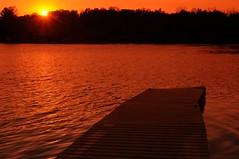 2013 Alpine Lake Sunset 19 (DrLensCap) Tags: sunset lake robert water wisconsin forest state north kettle alpine wi kramer moraine unit campbellsport