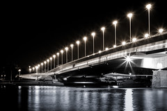 The Bridge (Fu-tography.com) Tags: vienna wien bridge light blackwhite blacknwhite brcke reichsbrcke bnwaustria
