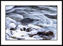 Winter along Williams River (travelphotographer2003) Tags: winter usa snow cold green ecology solitude westvirginia serenity appalachianmountains rushingwater troutstream alleghenymountains monongahelanationalforest williamsriver rushingmountainstream williamsriverscenicbackway