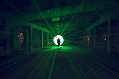 Shangyi Catholic School 2nd Visit (inhiu) Tags: china longexposure light lightpainting night beijing laser d800 urbex inhiu shangyicatholicschool 上仪师范学院