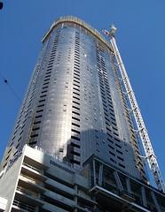 Pearl Tower - 3rd March 2014 (Oriolus84) Tags: glass facade skyscraper crane australia melbourne victoria southbank highrise prima pearltower apartmenttower primapearl 31queensbridgestreet