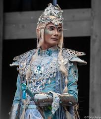 Venice Carnival 2014 (TonyJupp) Tags: venice costume purple mask gondola venetian venezia fancydress sanmarco kostner carnevaledivenezia carolinakostner