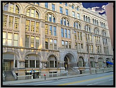 Hilton Garden Inn Milwaukee Downtown ~ Loyalty Building ~ Historic Building ~ Adaptive Reuse Hotel (Onasill ~ Catching Up) Tags: cloud building wisconsin architecture g