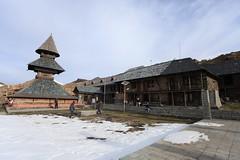 Prashar Lake Temple (Partha) Tags: winter lake snow trekking march weekend delhi hike february himalaya mandi himachal pradesh himachalpradesh prashar prasharlake