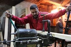 Carpender (Jungle C) Tags: wood portrait alexandria egypt machine workshop handiwork mechanics carpender 6millionpeople