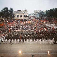 Vietnam China War 1979 - Mít tinh mừng chiến thắng trước Nhà hát lớn Hà Nội (manhhai) Tags: