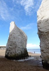 Chalk Soldiers (catz5555) Tags: sea sky cliff beach chalk kent sand pillar stack botanybay broadstairs